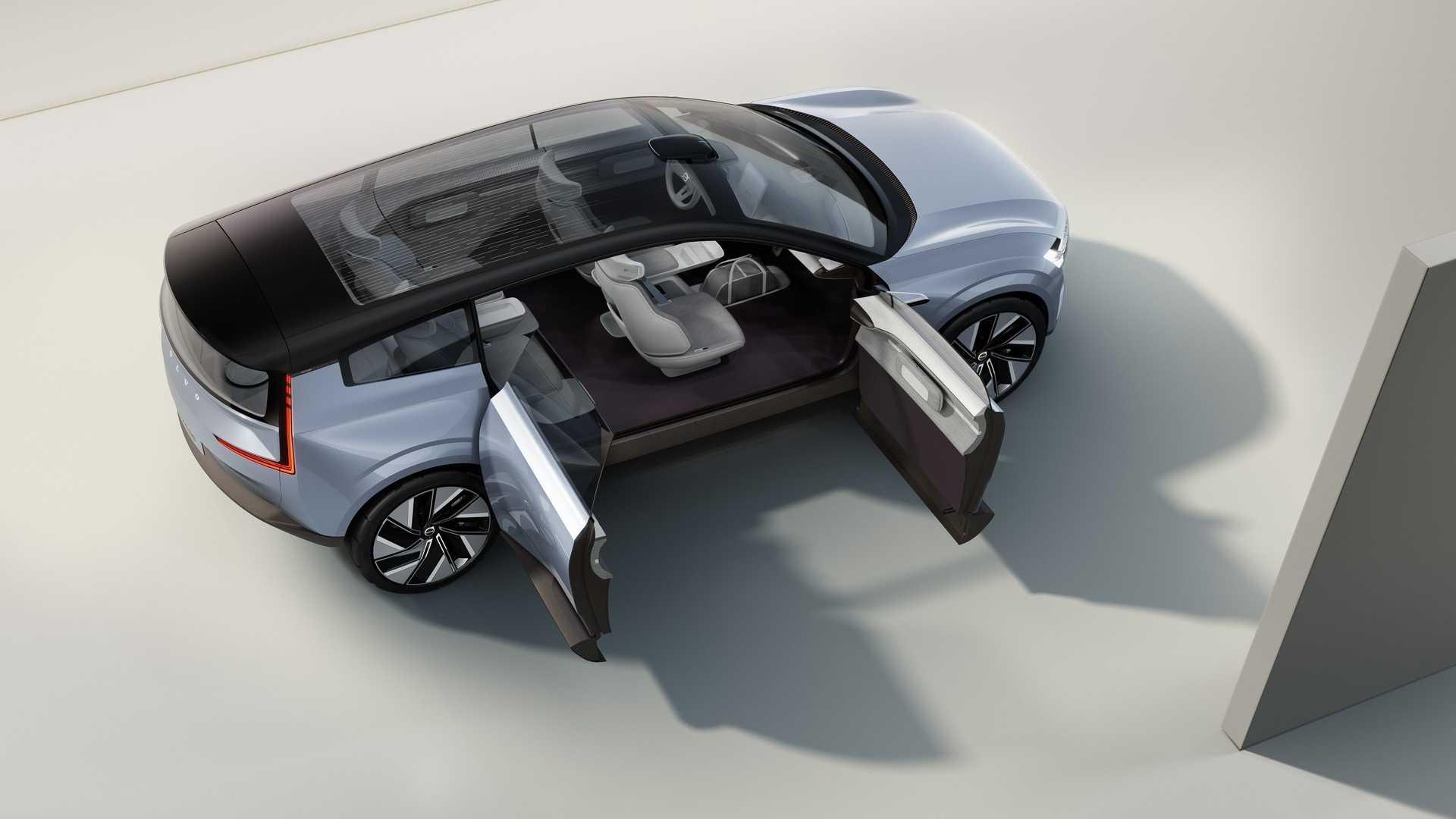 Concept Recharge от Volvo - электромобиль с новыми функциями